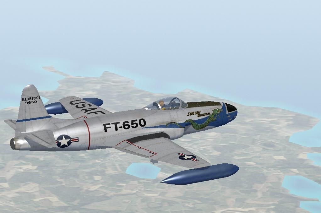 P D on Lockheed P 80